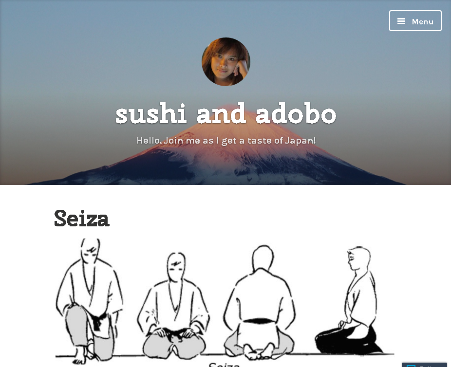 sushi and adobo – Hello. Join me as I get a taste of Japan